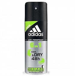 ADIDAS pánsky antiperspirant 6v1 Cool&Dry 48h 150 ml
