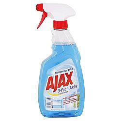 AJAX čistič skla 3 násobne aktívny 500 ml