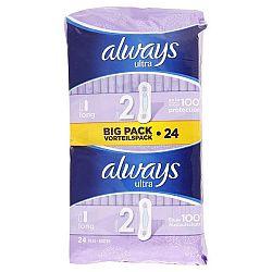 ALWAYS Ultra dámske hygienické vložky Long 2 24 ks