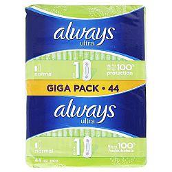 ALWAYS Ultra dámske hygienické vložky Normal 1 44 ks