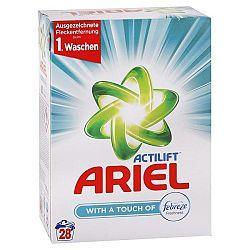 ARIEL Actilift univerzálny prášok na pranie prádla Febreze 1,95 kg / 30 praní