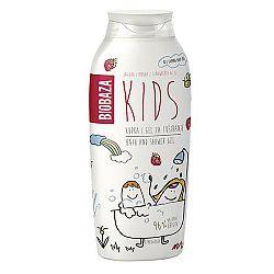 Biobaza KIDS detský sprchový gél jahody a figa 250 ml