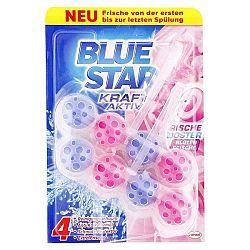 BLUE STAR WC blok Kvetinová sviežosť 2 x 50 g