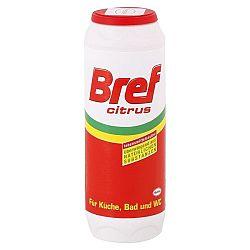 BREF prášok na čistenie kuchyne, kúpeľne a toalety Citrus 500 g