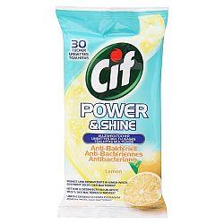 CIF antibakteriálne utierky Citrón 30 ks