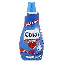 CORAL Optimal Color gél na pranie farebnej bielizne 1,1 l / 22 praní