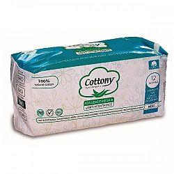COTTONY inkontinečné vložky z bavlny-normal 12 ks