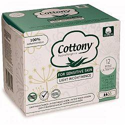 COTTONY inkontinečné vložky z bavlny-ultra mini 12 ks