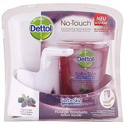DETTOL tekuté mydlo a bezdotykový dávkovač Lesné ovocie 250 ml