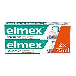 Elmex Sensitive zubná pasta s aminfluoridom duopack 2x75 ml