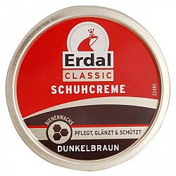 ERDAL Classic krém na topánky Tmavohnedý 75 ml