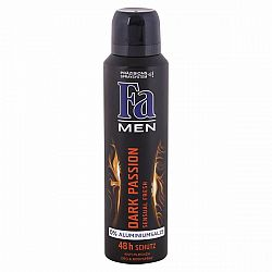FA pánsky deodorant Dark passion 150 ml