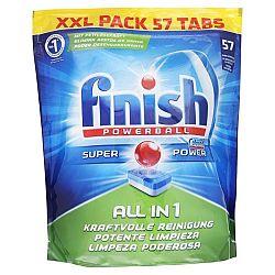 FINISH Powerball All in 1 tablety do umývačky 57 ks