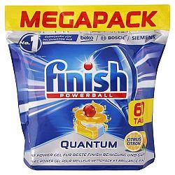 FINISH Powerball Quantum tablety do umývačky Citrón 60 ks