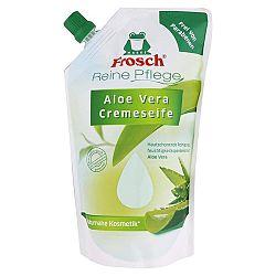 FROSCH BIO krémové tekuté mydlo náhradná náplň Aloe Vera 500 ml