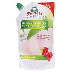 FROSCH BIO krémové tekuté mydlo náhradná náplň Malina 500 ml