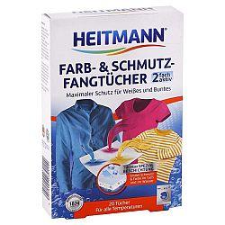 HEITMANN obrúsky do prania pohlcujúce farbu a nečistotu 20 ks