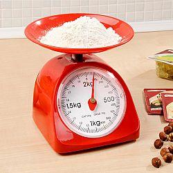 Magnet 3Pagen Kuchynské váhy, červená