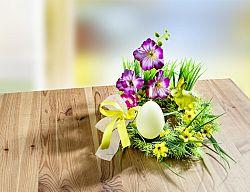Magnet 3Pagen Kvetinový aranžmán so sviečkou