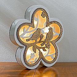Magnet 3Pagen LED kvetina