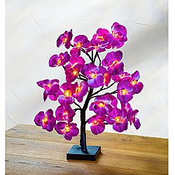 Magnet 3Pagen LED strom s orchideami