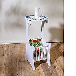 Magnet 3Pagen Odkladací stolík, biela