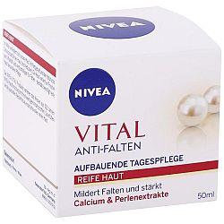 NIVEA denný krém proti vráskam Vital Kalcium a perlový extrakt 50 ml