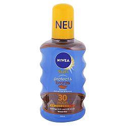 NIVEA Sun olej na opaľovanie podporujúci zhnednutie SPF 30 200 ml