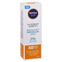 NIVEA Sun opaľovací krém na tvár SPF 50 Sensitive 50 ml