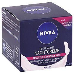 NIVEA výživný nočný krém na suchú pleť 50 ml