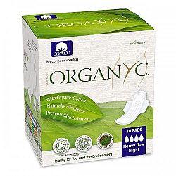 ORGANYC dámske vložky z organickej bavlny-silné krvácanie 10 ks