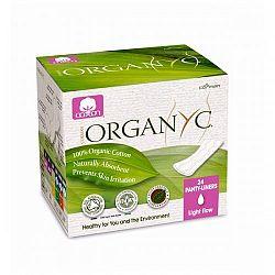 ORGANYC slipové dámske vložky z organickej bavlny-skladané 24 ks