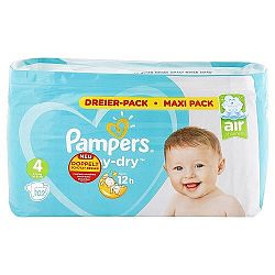 Pampers detské plienky Baby dry (4) 102 ks