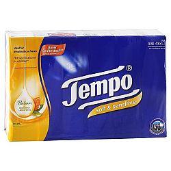 TEMPO hygienické vreckovky Mandľový olej a aloe vera 48 balíkov