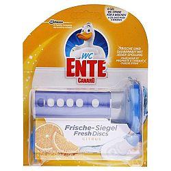 WC ENTE fresh disk na toalety Citrus 6 ks