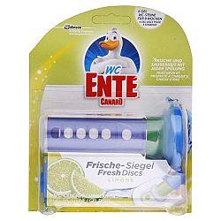 WC ENTE fresh disk na toalety Limetka 6 ks