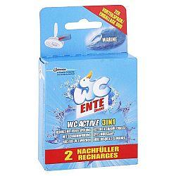 WC ENTE náhradná náplň do WC bloku 3v1 Morská sviežosť 2 x 40 g