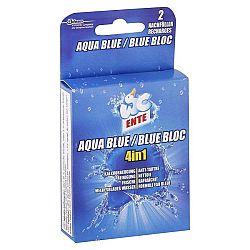 WC ENTE náhradná náplň do WC bloku 4v1 Aqua Blue 2 x 40 g