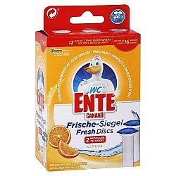 WC ENTE náplň do fresh disku na toalety Citrus 12 ks
