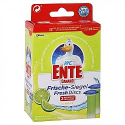 WC ENTE náplň do fresh disku na toalety Limetka 12 ks