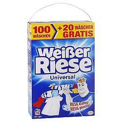 WEISSER RIESE univerzálny prášok na pranie bielizne 8,40 kg / 120 praní