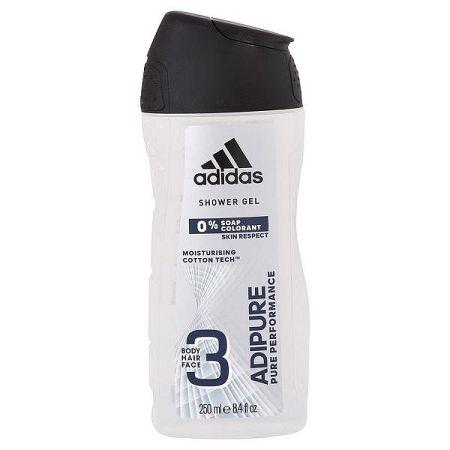 ADIDAS sprchový gél pre mužov Adipure 250 ml