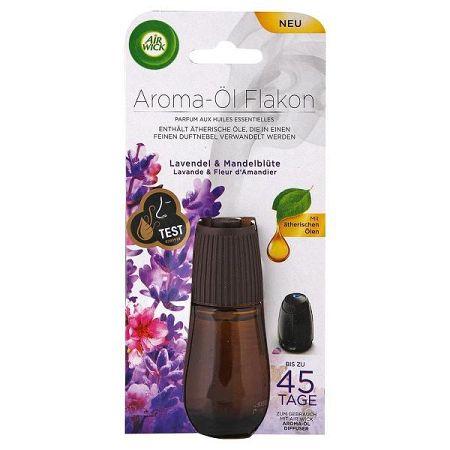 AIR WICK Aroma náhradný olej do difuzéra Levanduľový a mandľový kvet 20 ml
