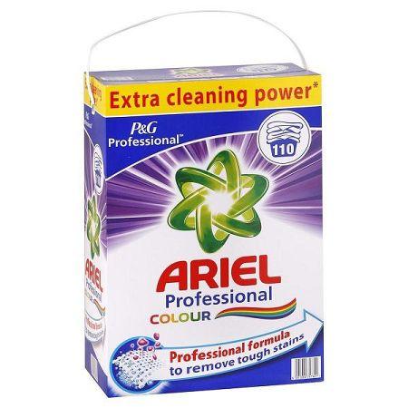 ARIEL Professional Colour prášok na pranie farebnej bielizne 7,15 kg / 110 praní