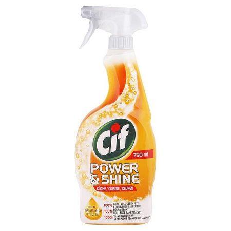 CIF Power & Shine čistič kuchyne s vôňou citrusových olejov 750 ml