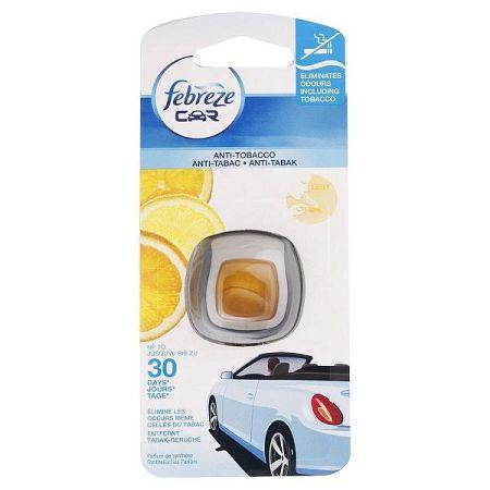 FEBREZE osviežovač vzduchu do auta Anti-tabak s citrónom 2 ml