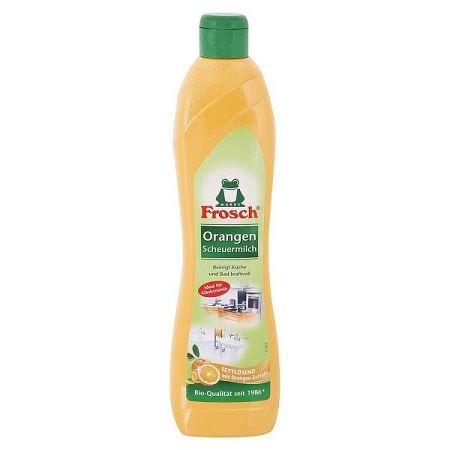FROSCH BIO čistiaci krém na sklokeramické povrchy Pomaranč 500 ml