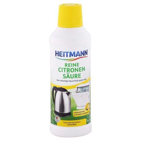 HEITMANN tekutý odvápňovač kyselina citrónová 500 ml