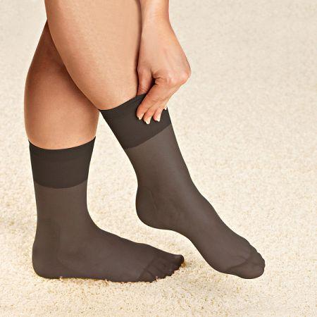 Magnet 3Pagen 1 pár ponožiek s aloe vera, čierna