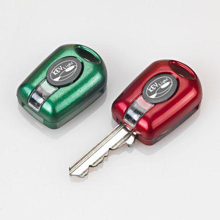 Magnet 3Pagen 4 LED svetlá ku kľúčom, čierna/strieborná/červená/zelená